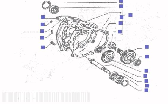 Gilera Runner 200 VXR Rear Wheel Shaft