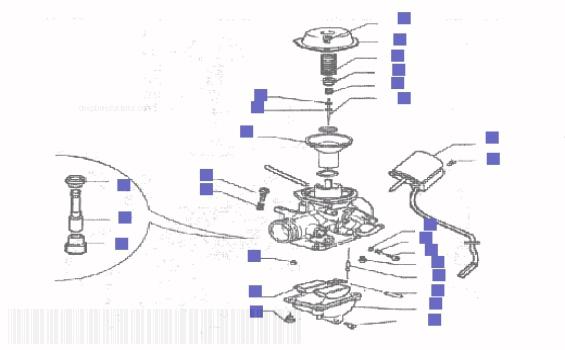 Gilera Runner 200 VXR Carburettor