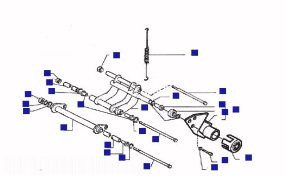 Gilera Runner 200 VXR Swinging Arm