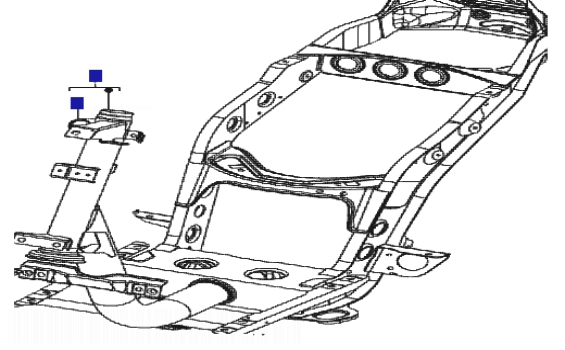 Piaggio Zip 100 4T Frame/Bodywork