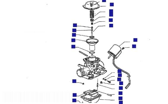 Piaggio X9 125 Carburettor