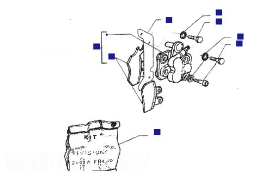 Piaggio X9 125 Brake Calipers