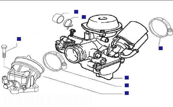 Piaggio X9 125 Evo (Euro 3) (UK) Carburettor