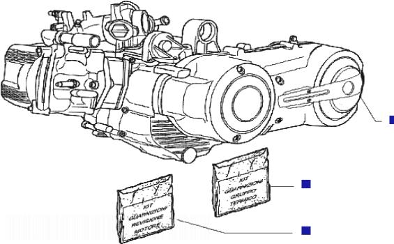 Piaggio X Evo 400 (Euro 3) Engine