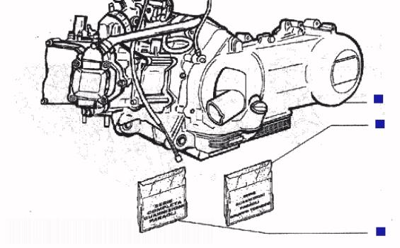 Piaggio Beverly 125 (B125) Engine