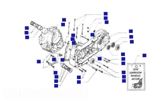 Piaggio Hexagon 250 GT Crankcase