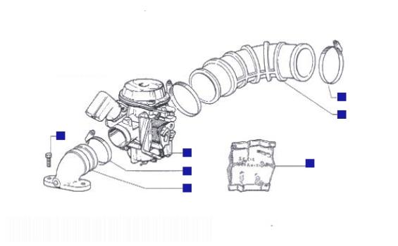 Piaggio Liberty 125 Carburettor