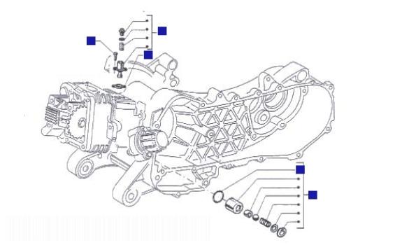 Piaggio Liberty 125 Chain Tightener-by Pass Valve