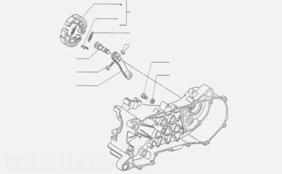 Piaggio NRG mc2 Brake Caliper