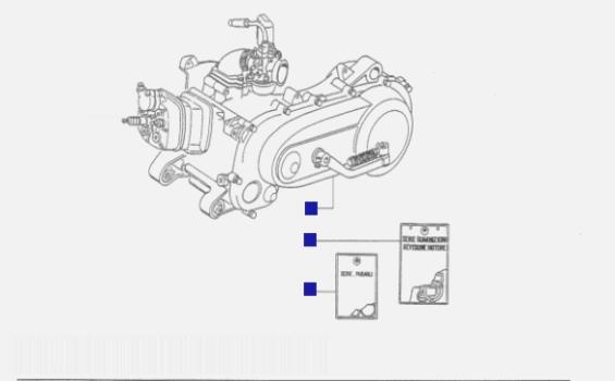 Piaggio NRG mc2 Motor