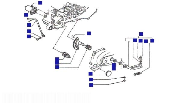 Piaggio NRG mc3 (H2O) Starter Motor-starter Lever