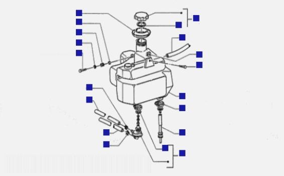 Piaggio Zip RST Fuel Tank