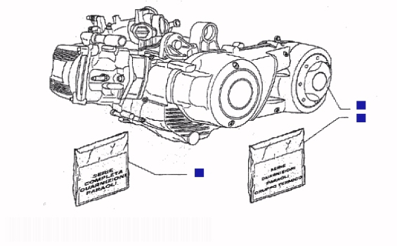Piaggio X9 500 Engine