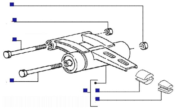 Piaggio Liberty 50 RST 2T Swinging Arm