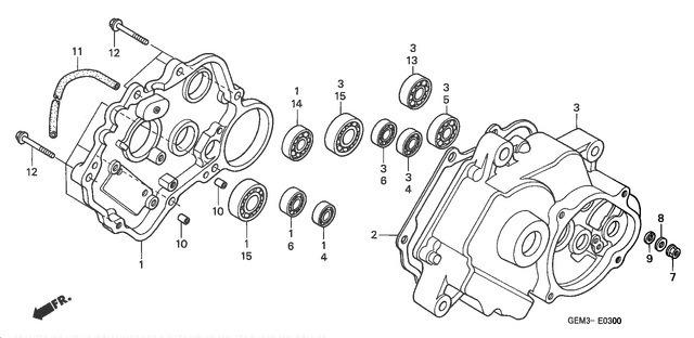 Gilera Runner 200 VXR 4T RACE (EURO 3) (UK) Carburetor's
