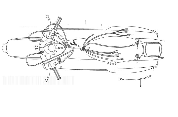 LML STAR DELUXE 125 4 STROKE Electrical Wiring Harness
