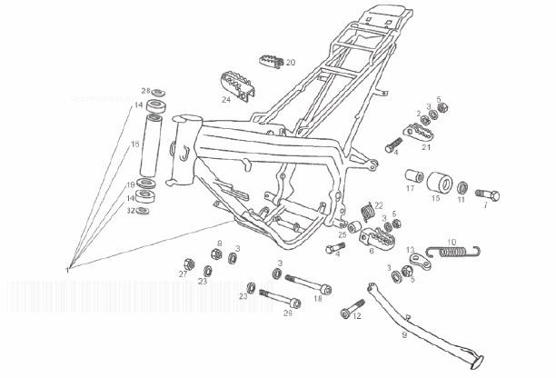 Derbi Senda SM X-Race E2 Frame