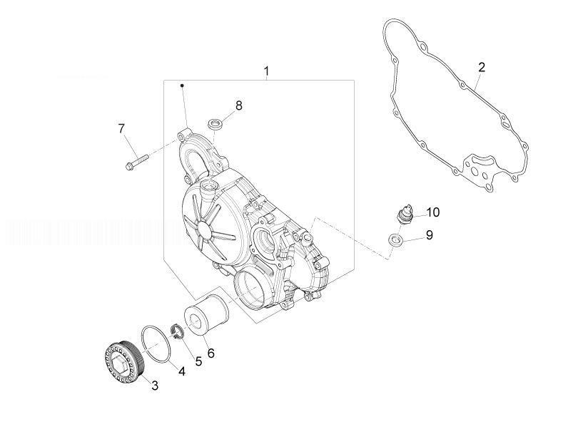 APRILIA RS4 125 4T Oil Filter