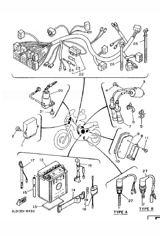 YAMAHA XTZ750 SUPER TENERE Electrical 1