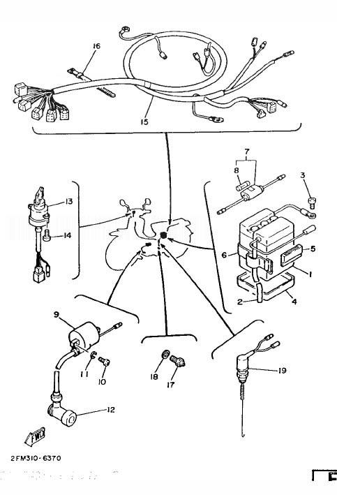 Yamaha townmate wiring diagram