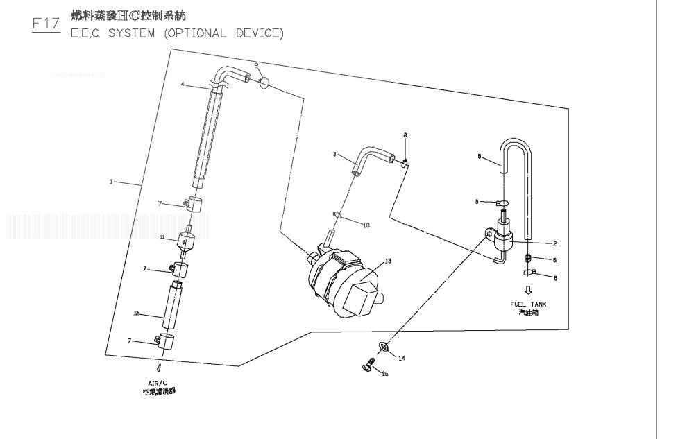 PGO G-MAX 125 Hc Eec.System