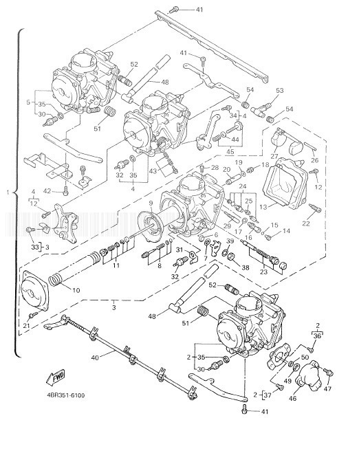 YAMAHA XJ600N Diversion Carburetor