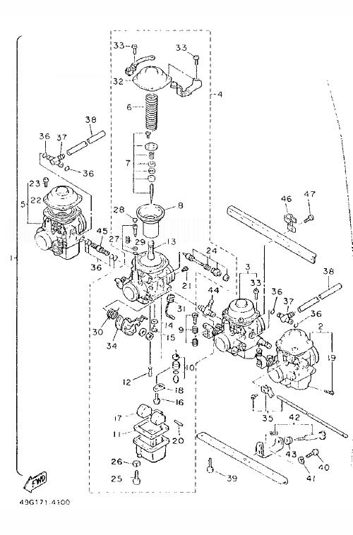 YAMAHA XJ600 Diversion Carburetor