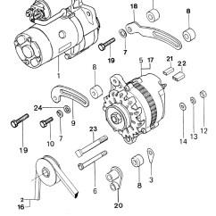 Diesel Engine Starter Diagram John Deere Gator Charging System Vetus M3 10 Marine Motor And Alternator
