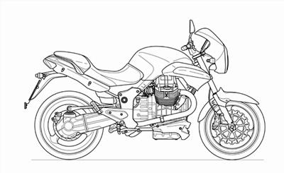 Moto Guzzi 1200 Sport Spare Parts 2006-07