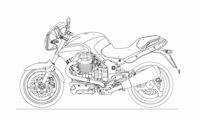 Moto Guzzi 1200 8V Spare Parts 2008-11