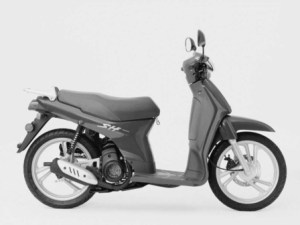 Honda SH50W Scoopy Spare Parts 1998