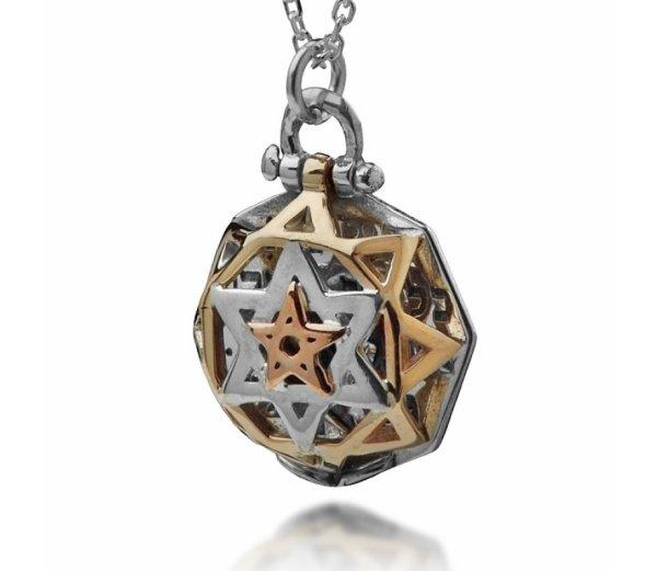 5 Metal Tikun Hava Pendant Haari Jewelry