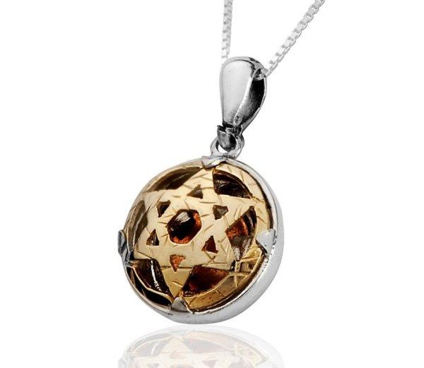 5 Metals Star Of David Necklace Haari Jewelry