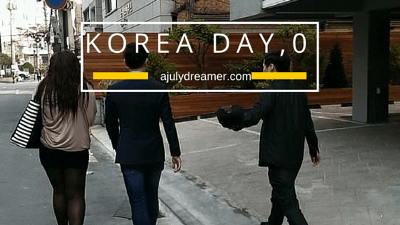 {Travel} Korea Day 0