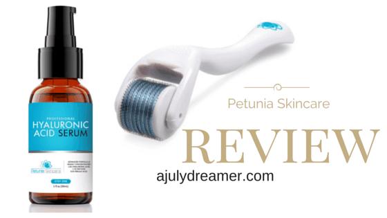 {Beauty} Petunia Skincare Derma Roller & Serum Review