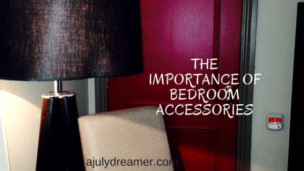 The importance of bedroom accessories
