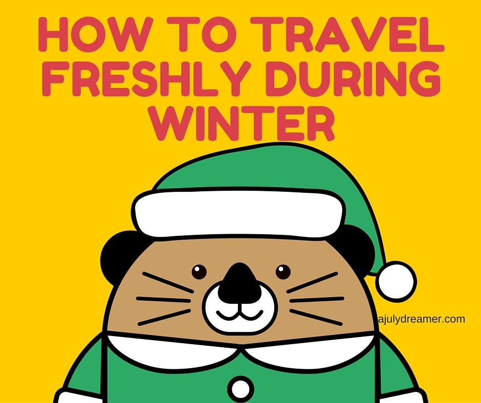 how to travel freshly during winter