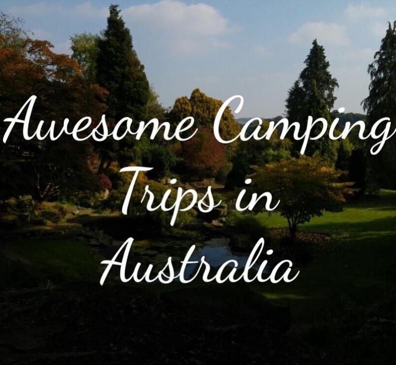 Awesome camping trips in australia