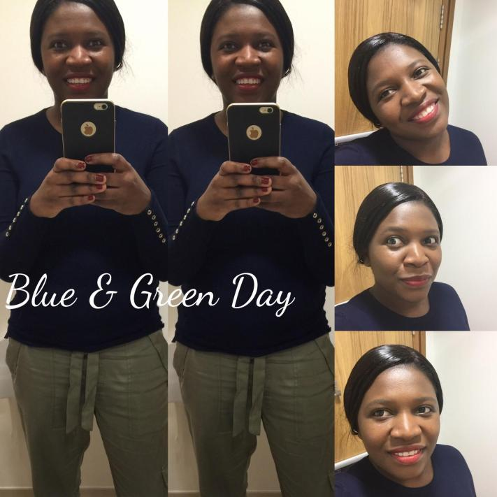 Blue & Green Day