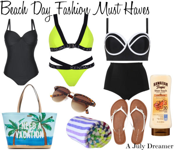 Beach Day Fashion Must Haves