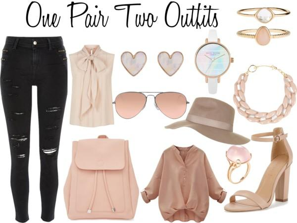 one pair two outfits
