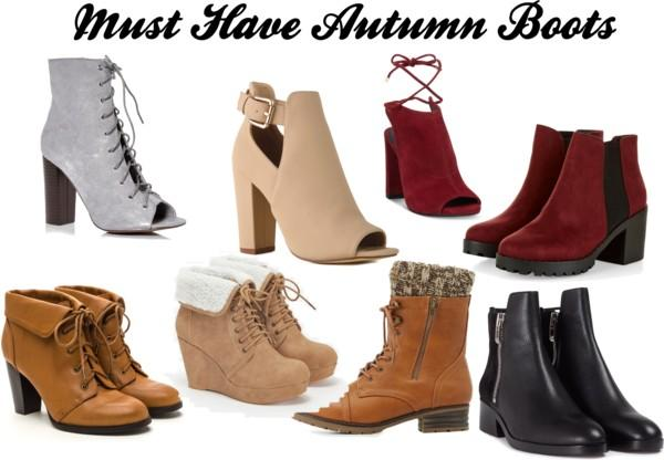 {Fashion} Must Have Autumn Boots