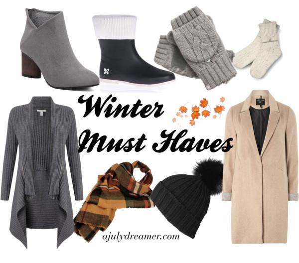 {November} Winter Must Haves
