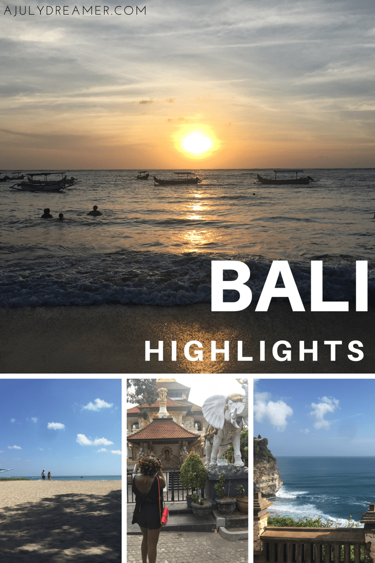 Bali highlights
