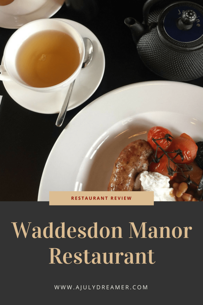 Waddesdon Manor Restaurant