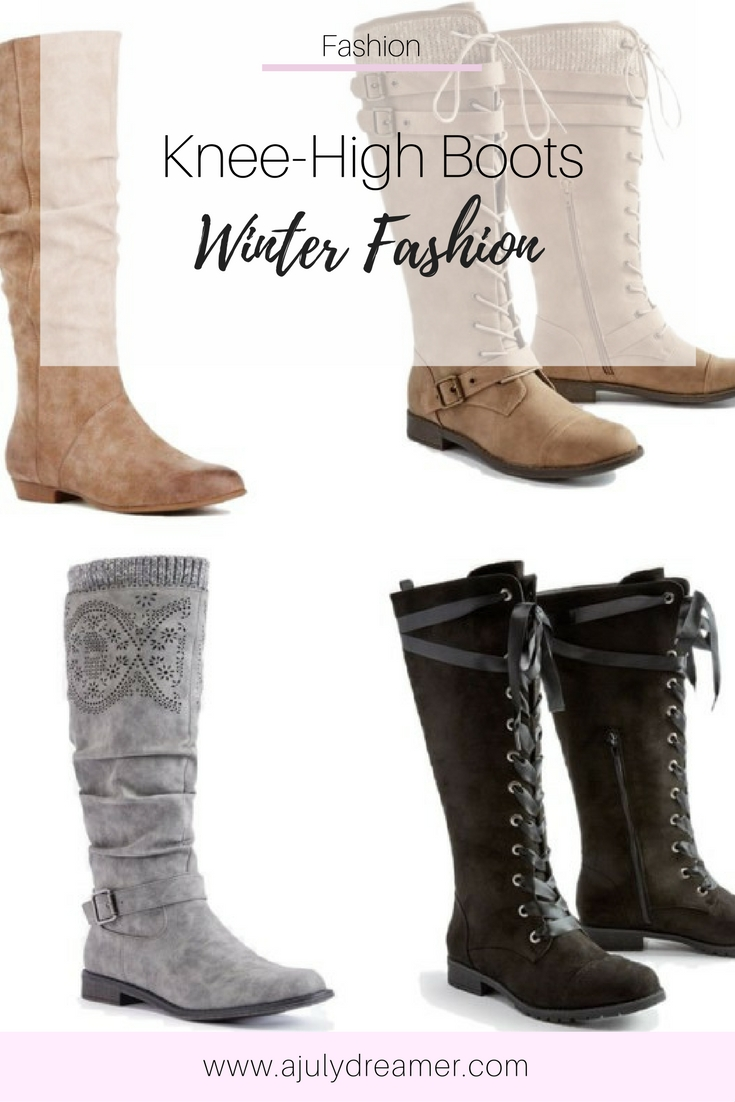 Winter Fashion - Knee High Boots