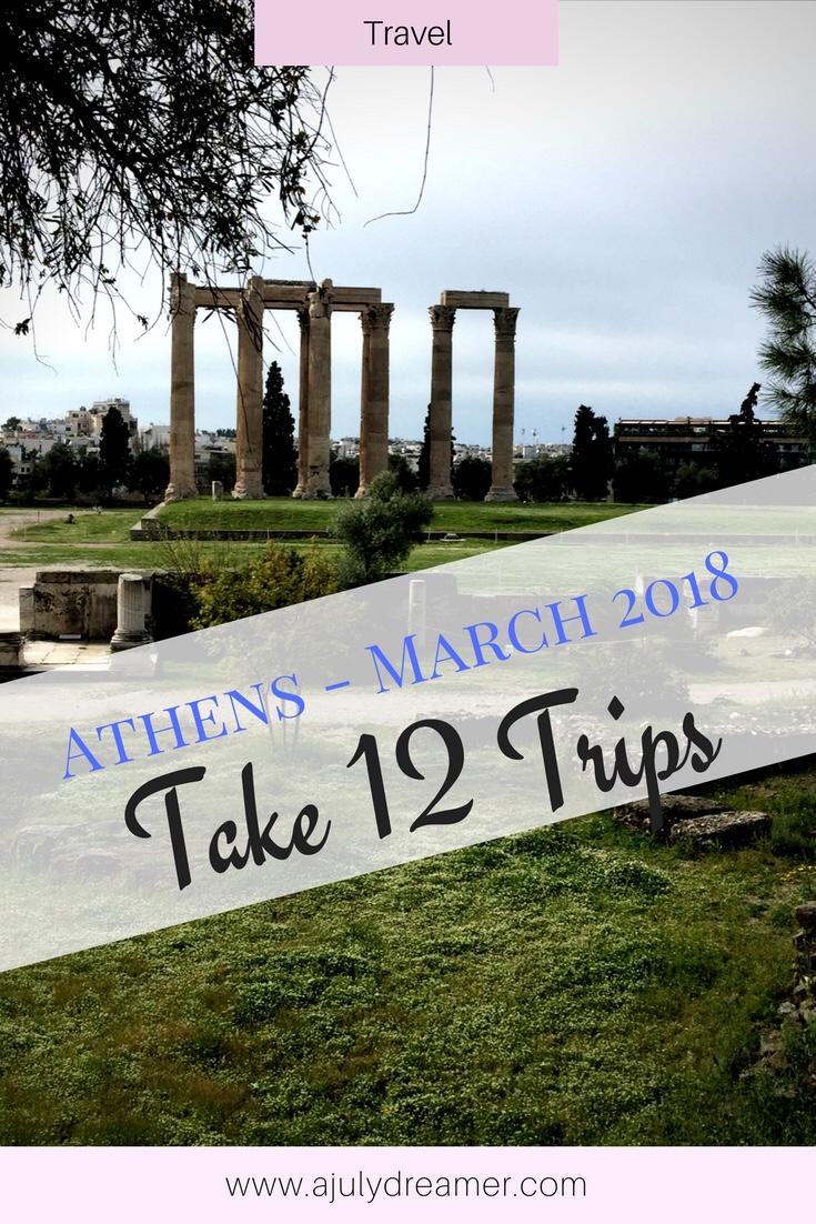 Take Twelve Trips – March 2018 2 #take12trips
