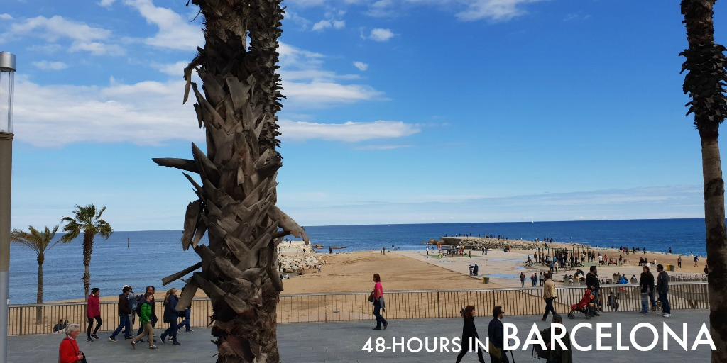 48-hours in Barcelona