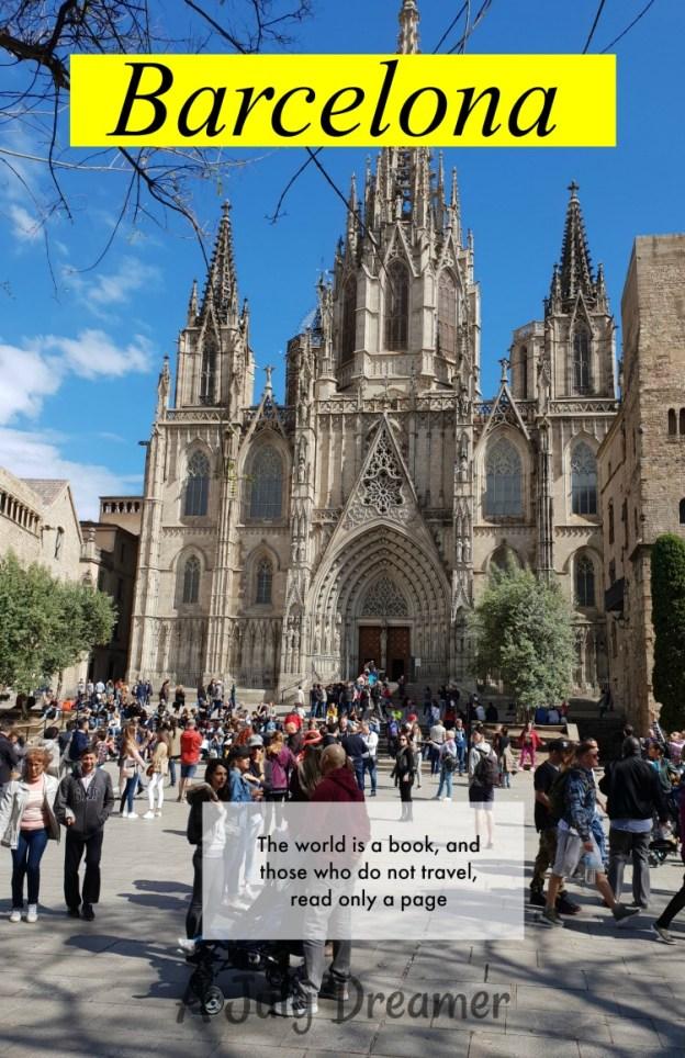 48-hours in Barcelona
