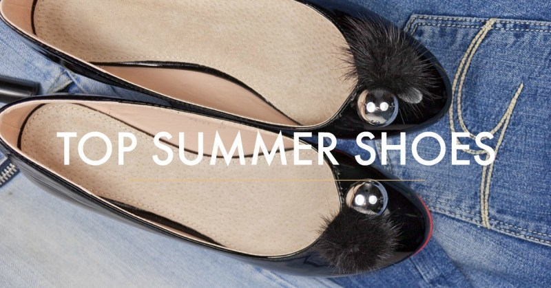 Shoes for summer – Top 5 Summer Shoe Trends for 2018